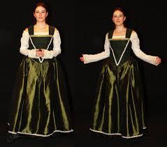 green renaissance dress by celefindel on deviantart