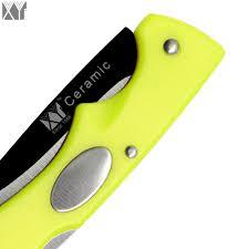 aliexpress com buy sale folding ceramic kitchen knife xyj