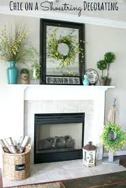 ideas for home decoration modern fireplace mantel decorating ideas awoof me