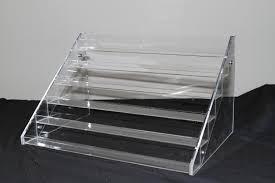 amazon com nail polish table rack display hold up to 60 bottles