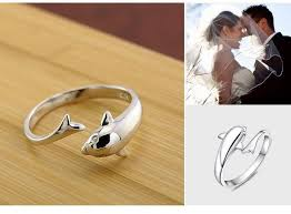 acrylic dolphin ring holder images Online cheap simple cute 3d dolphin single ring open design new jpg