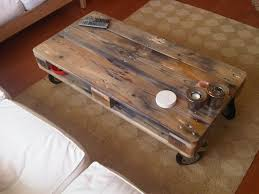 Diy Wooden Pallet Coffee Table by