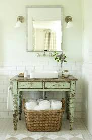 Shabby Chic Bathroom Furniture Shabby Chic Bathroom Cabinet With Mirror The Accessories For The