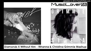 Drake Wildfire Instrumental Mp3 Download by Diamonds X Without Him Rihanna U0026 Christina Grimmie Mashup Youtube