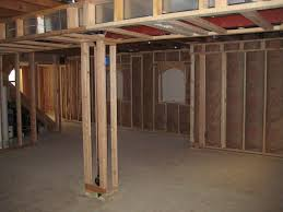 the basic material for insulating basement walls basement with
