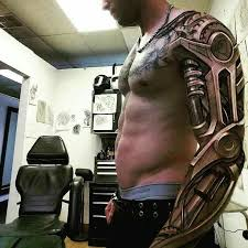 best 25 robotic arm tattoo ideas on pinterest half sleeve
