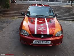 opel corsa 2004 10 years with my opel corsa red baron 30 000 kms of smiles