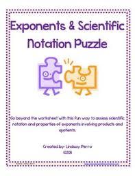 17 best scientific notation pre algebra images on pinterest