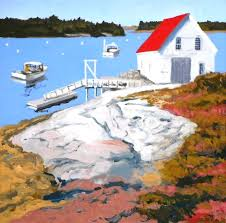 painting in the square u0027 with artist john butke boothbay register