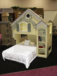 Over The Bed Bookshelf Dollhouse Loft Bed Themed Beds By Tanglewood Design