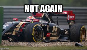 lexus bahrain crash all of pastor maldonado u0027s crashes and fails from the 2014 f1 season