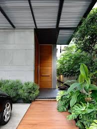 zen inspired dwelling with a potent modern day architecture