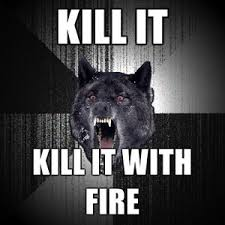 Insanity Wolf Meme Generator - insanity wolf kill it kill it with fire meme generator polyvore