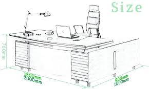 L Shaped Desk Dimensions L Shaped Office Desk Dimensions Beautiful 60a60 Workstation U