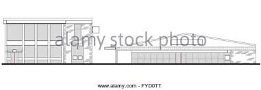 Strip Mall Floor Plans Strip Mall Cut Out Stock Images U0026 Pictures Alamy