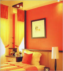 interior wall painting colour combinations orange paint color