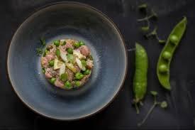 cuisiner les petit pois frais recette de tartare de veau et petits pois frais rapide