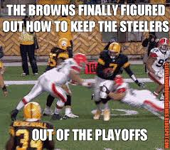 Roethlisberger Memes - cleveland browns memes the browns knocking the steelers from the