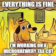 Everything Is Fine Meme - dog in burning house imgflip