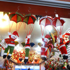 New Years Eve Decorations On Sale by Parachuting Santa Decoration Online Parachuting Santa Christmas