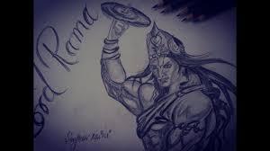 how to draw lord rama pencil drawing shivaay krishna new