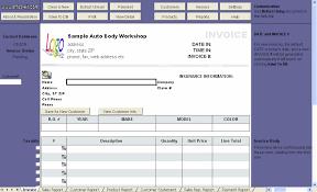 Free Auto Repair Invoice Template Excel Auto Mechanic Invoice Template Free Invoice Template