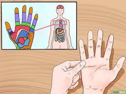 schmerzen in der handfläche reflexzonenmassage an der ausführen wikihow