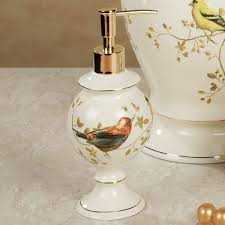 gilded bird ceramic bath accessories title u003dhome u003e gilded bird