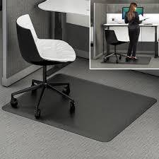 Black Chair Mats For Hardwood Floors Chair Chair Mat Office Chair Carpet Protector Computer Floor Mat