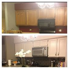 adding crown molding to hide soffit above kitchen cabinets by adding crown molding kitchen