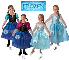 frozen dress for halloween sale kids licensed disney frozen anna or elsa girls fancy dress