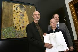 Museum For The Blind The Kiss 3 D Now You Can Touch Klimt U0027s Masterpiece Artnet News