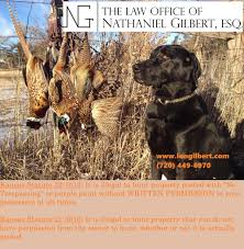 can i hunt private land in kansas that is not posted kansas