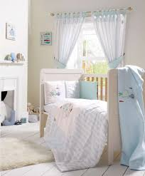 Baby Curtains For Nursery by Bubble Blue 5 Piece Cot Cotbed Bedding U0026 Curtains Set Bubble