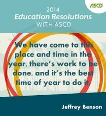 the best time of year ascd inservice