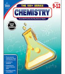 chemistry workbook grade 9 12 carson dellosa publishing
