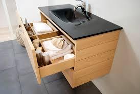 Plan Vasque Teck Chambre Meuble Lavabo Contemporain Vasque Salle Bain Design Et