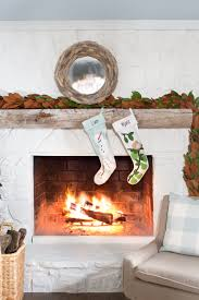 decoration christmas decorations for fireplace mantel white