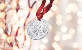 lalique 2017 annual ornament entrelacs clear