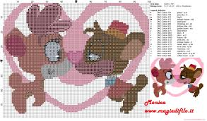 bears love free cross stitch pattern free cross stitch patterns