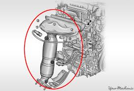 lexus warranty catalytic converter how to install a catalytic converter yourmechanic advice