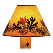 cedar floor lamp traditional or vintage cedar finish optional