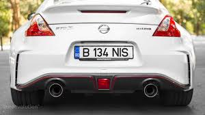 nissan 370z exhaust sound 2016 nissan 370z nismo review autoevolution