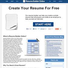 Create An Online Resume For Free by Free Resume Builder Online Alternatives Alternativeto Net