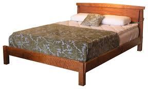 sunrise platform bed craftsman platform beds by ty fine