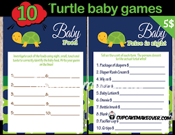 turtle baby shower turtle themed baby shower instant cupcakemakeover
