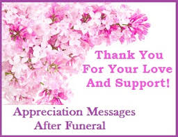 bereavement thank you cards appreciation messages and letters bereavement