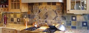 slate backsplash kitchen slate backsplash classic trendy results backsplash