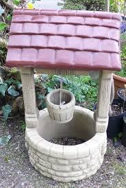 wishing well garden ornament reconstituted 1m x52cm