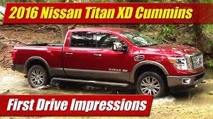 nissan cummins first drive impressions 2016 nissan titan xd cummins testdriven tv